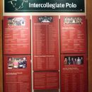 The Intercollegiate display at the Polo Hall of Fame 2009