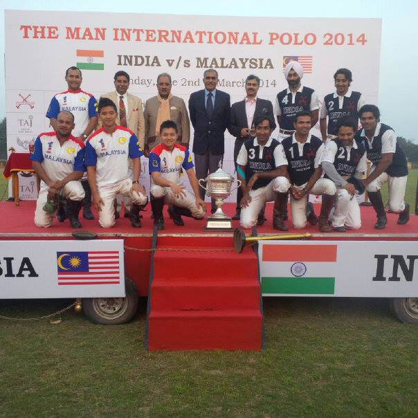 Malaysia National Polo Team to compete in India, March 2014
