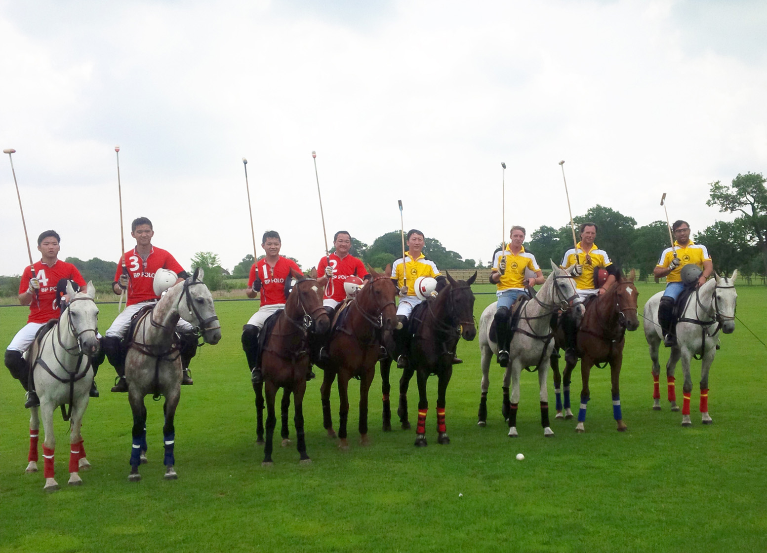 BP Polo vs Tang Polo Beijing in a Friendly Match Held in England